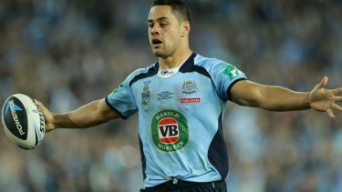 The proving ground: Jarryd Hayne's performances in last year's State of Origin series paved the way for his NFL tilt.