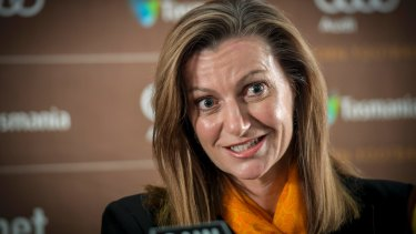 "Tracey Gaudry, new Hawthorn CEO, says illness forged her ""resilient character""."
