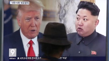 "Donald Trump derided North Korean leader Kim Jong Un as ""Rocket Man."" In response, Kim described Trump as a ""mentally deranged US dotard""."