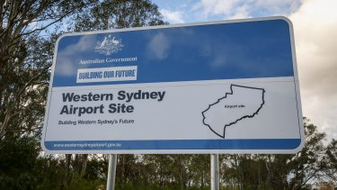 The second Sydney airport is a huge new infrastructure project.