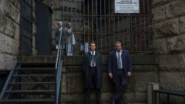 In <i>Mindhunter</i>, scientific research takes place in jails that look like medieval strongholds.
