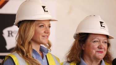 Gina Rinehart (right), with her daughter Ginia, is Australia's sixth-richest person and is No.51 on Forbes' list of the world's most powerful women.