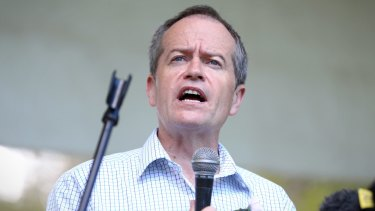 """I just don't buy it"": Opposition Leader Bill Shorten."