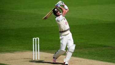 Kevin Pietersen hits out during his stunning innings of 326 in May.