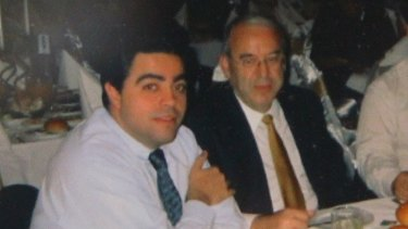 Obeid ran the powerful Terrigals group within the ALP's right faction, with fellow ex-minister Joe Tripodi (left).
