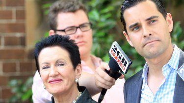 Allied: Alex Greenwich with City of Sydney lord mayor Clover Moore.