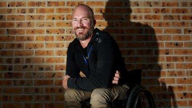 Former bricklayer Brett Henman.