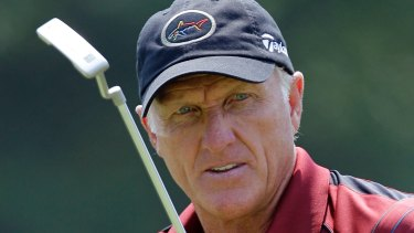 Golf legend Greg Norman.