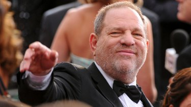 Harvey Weinstein at the Oscars in 2016.