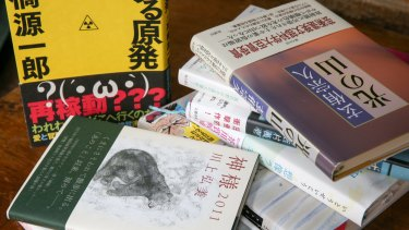 Some of the many books of fiction written in response to Japan's earthquake and tsunami on March 11, 2011.