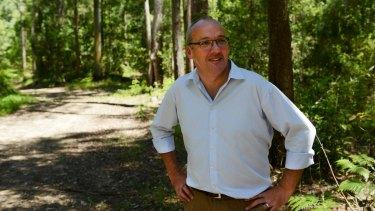 "Luke Foley announces Labor will establish a new ""koala national park""."