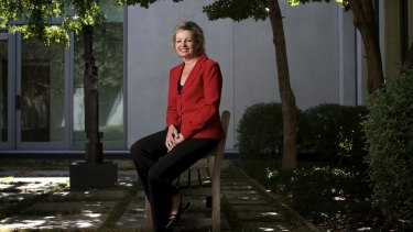 Ms Ley pictured in Parliament House, Canberra.