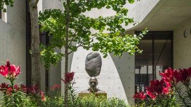 Part of the garden Owen designed for inner-Sydney home Indigo Slam.
