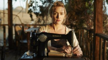 "<i>The Dressmaker</i> has left Kate Winslet a dab hand at sewing: ""I've always wanted to be one of those mums that could knock up cute little curtains."""