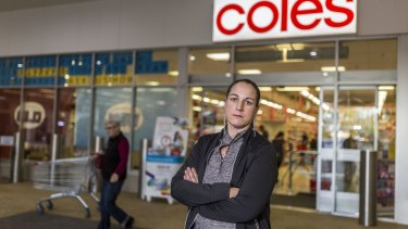 Penny Vickers is the latest worker to take Coles to the Fair Work Commission over its wage deals.