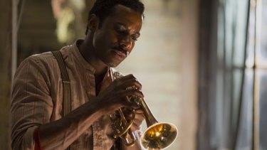 "Gary Carr portrays jazz pioneer Charles ""Buddy"" Bolden."