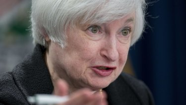 'I want to emphasise, domestic developments have been strong,' Janet Yellen said.