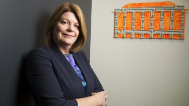 Focus on Civic: Canberra Business Chamber chief executive officer Robyn Hendry.