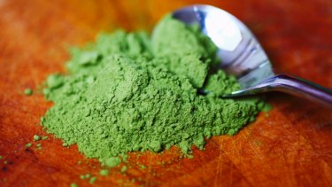 Food of 2015: Matcha green tea powder.