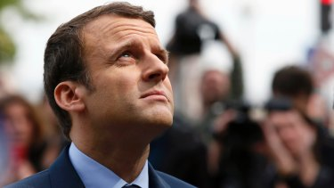 Centrist candidate Emmanuel Macron has pinned his hopes on modest reforms.