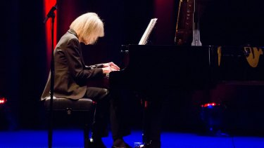 Composer-pianist Carla Bley performs at the Melbourne Recital Centre.
