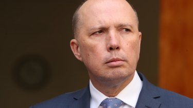 Immigration Minister Peter Dutton has criticised companies speaking out on social issues.