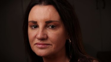 Senator Jacqui Lambie at Parliament House.