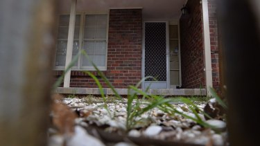 Terry Bailey's front door.