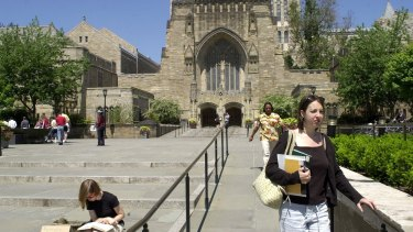 Many IB graduates study at foreign universities such as Yale.