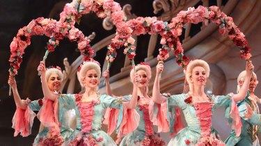David McAllister's lavish production of The Sleeping Beauty has returned to Melbourne.
