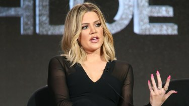 Khloe Kardashian is lucky to have a TV show on which she can call her sister a fashion copycat.