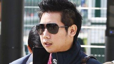 "Vorayuth ""Boss"" Yoovidhya at the British Formula 1 Grand Prix in Silverstone, England in 2013."