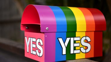 The same-sex marriage postal survey results will be announced on November 15.