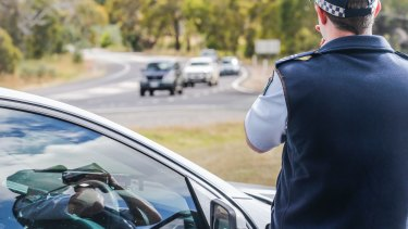 Toowoomba Road Policing Command officers allegedly spotted a drug driver travelling 69km/h at the Gatton Bypass