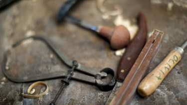 Tools of the rocking horse trade.