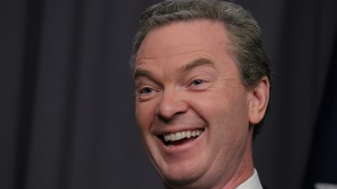 Pushed for higher education reforms: Christopher Pyne.