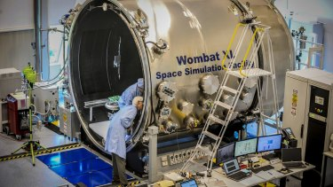 Researchers from around Australia have begun testing three Cubesats satellites satellites at the Mount Stromlo space testing facilities in Canberra.