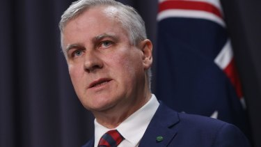 Federal Small Business Minister Michael McCormack said cash flow was crucial to the prosperity of small businesses.