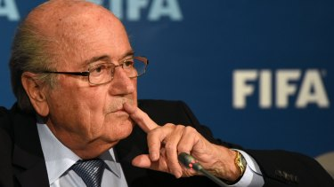 Senator Xenophon is calling on the FFA to demand the resignation of FIFA chief Sepp Blatter.
