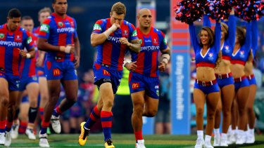 On the block: The Newcastle Knights have struggled this year.
