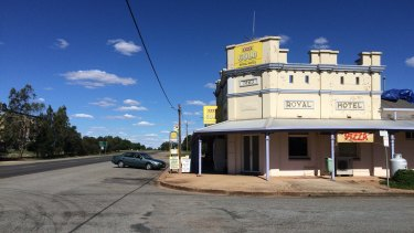 Patrons of the Royal Hotel in Grong Grong are not too impressed with the knighthood for Prince Philip.