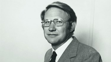 Then: John Zillman, in 1981. He  has seen climate science take leaps and bounds during his career.