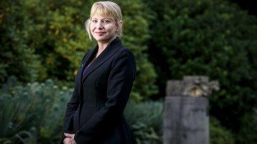 DLP crossbencher Rachel Carling-Jenkins at Parliament House.