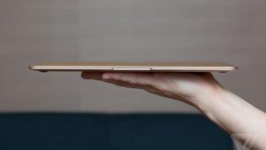 Apple's 12-inch MacBook is unbelievably thin.