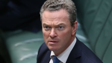 Pyne said two years ago that if the issue of gay marriage was to come up in the next Parliament, the Coalition would reconsider the stance that it wouldn't change the Marriage Act.