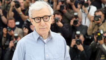 Woody Allen has never been charged with a sex crime.