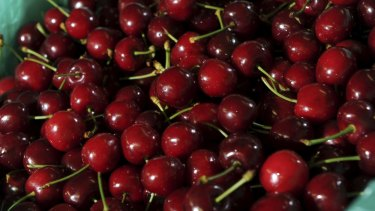 Overseas counterfeiters have targeted Australian food producers, knocking off products such as cherries.