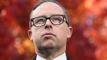Qantas chief executive Alan Joyce said the pie incident reinforced his resolve to campaign for marriage equality.
