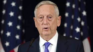 US Secretary of Defence Jim Mattis had ordered a review into transgender people serving in the military.