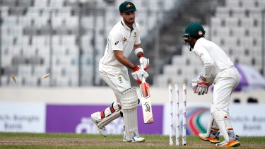 Does Glenn Maxwell put too little a price on his wicket?